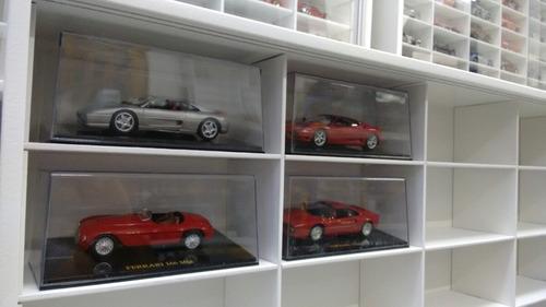 expositor carros inesquecíveis stock car 30 nichos esc. 1/43