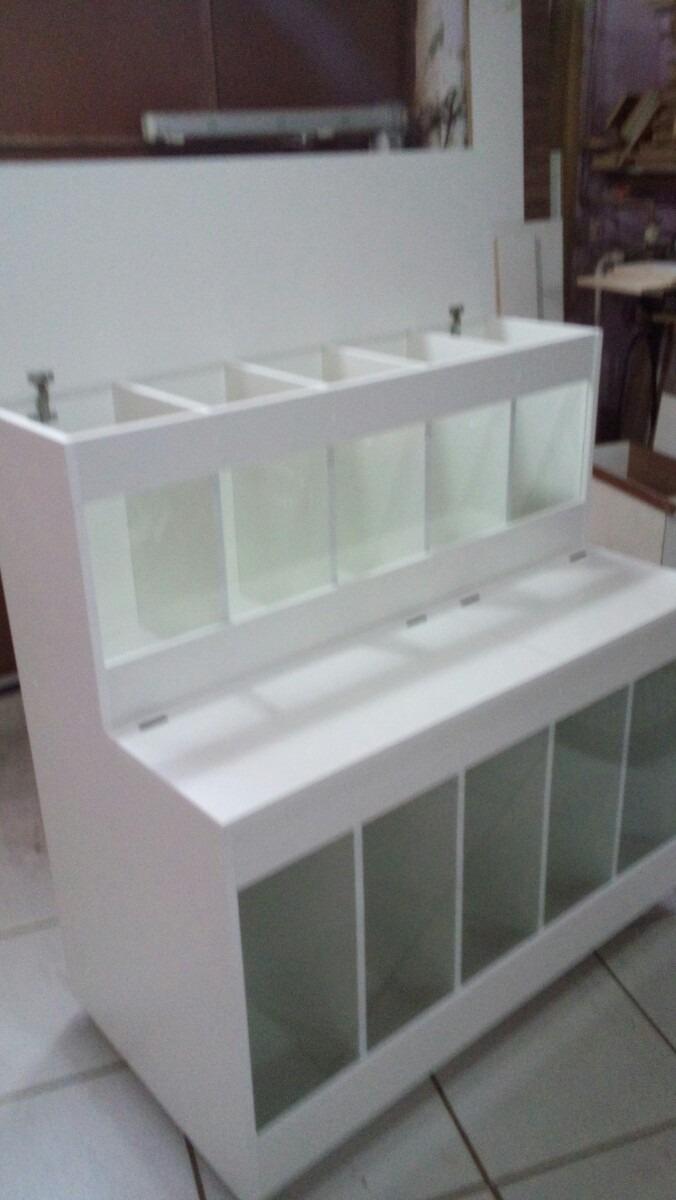 expositor de ra o pet box para pet shop r 690 00 em mercado livre. Black Bedroom Furniture Sets. Home Design Ideas