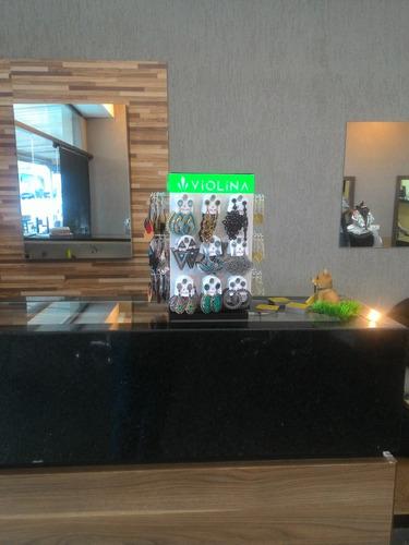 expositor display para 108 brincos giratório