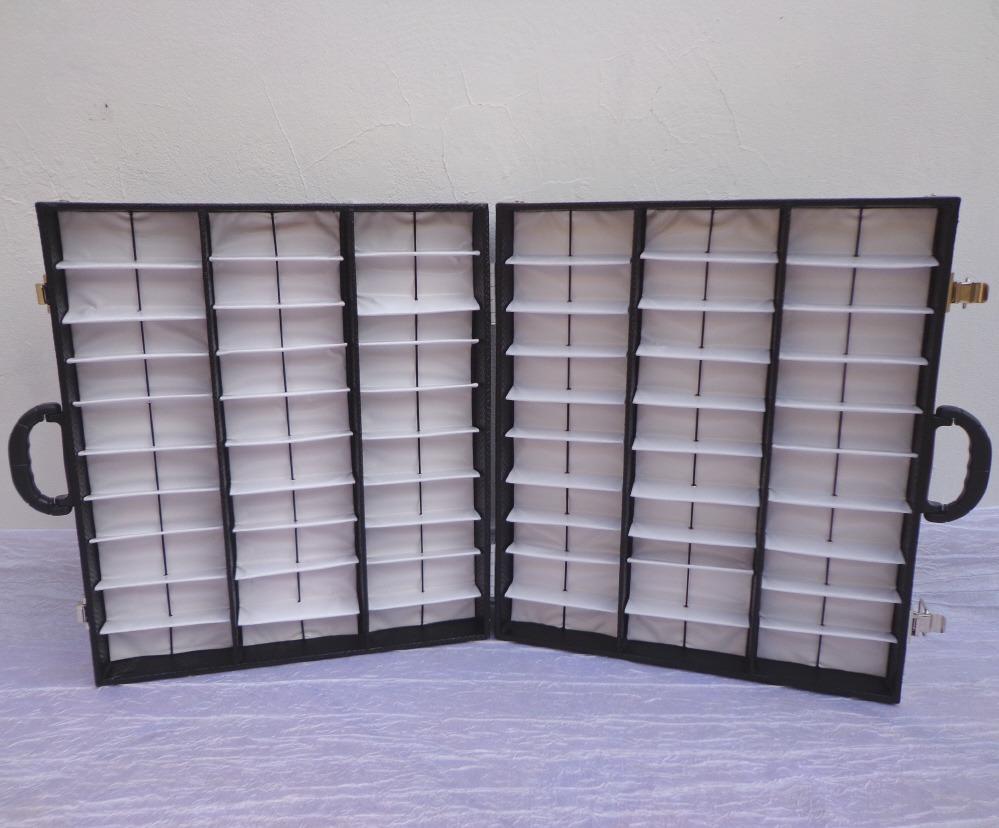 expositor duplo maleta caixa estojo porta 60 óculos de sol. Carregando zoom. 9699fc7d5e