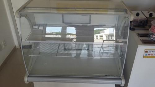 expositor refrigerado refrimate com apenas 9 meses de usado
