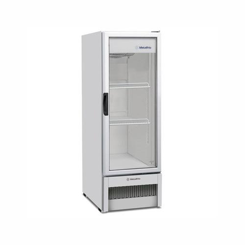 expositor refrigerado slim vb25r  metalfrio geladeira 276 lt