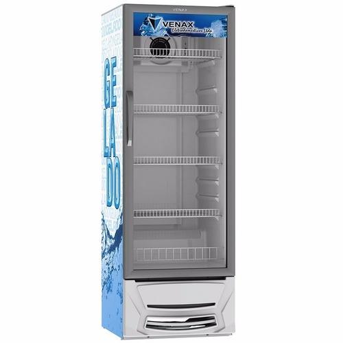 expositora de bebidas vv 300 litros adesivado gelado - venax