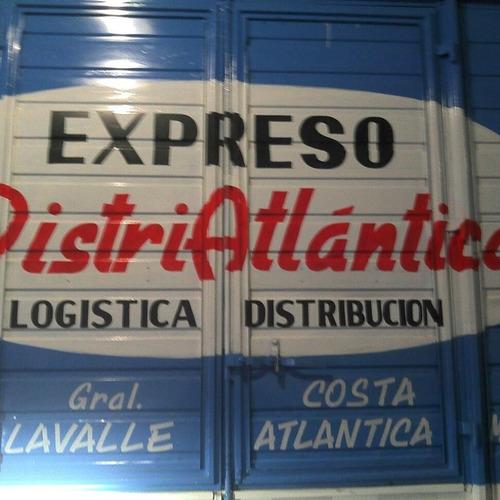 expreso logistica  distribucion y mudanza  costa atlantica