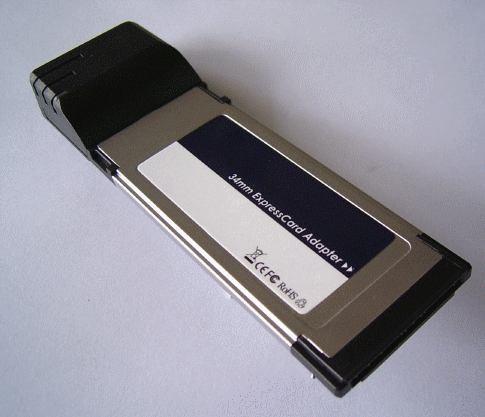 expresscard 1 port doble función: power esata o usb 2.0
