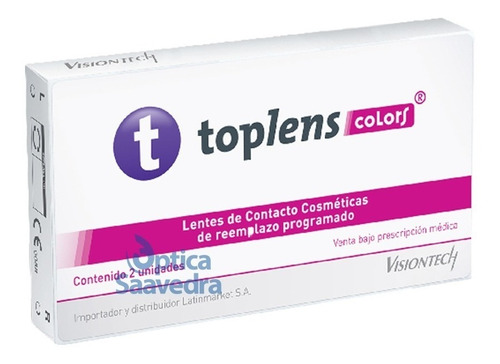 expression toplens lentes de contacto colors tricolor optica