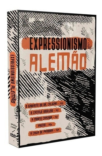expressionismo alemão volume 1, box 3 discos e cards +
