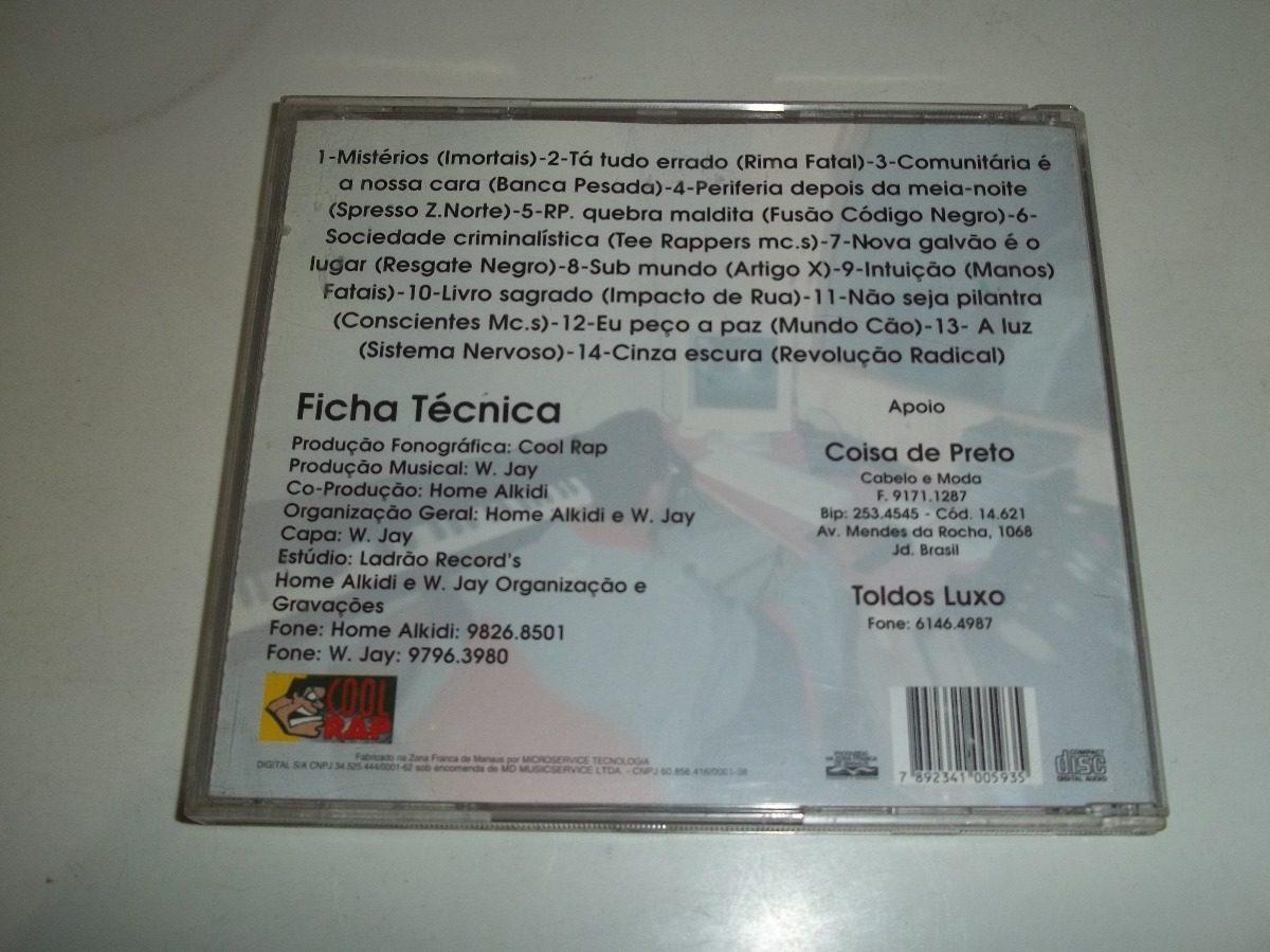 Expressão Das Ruas - Cd Vol 2 - Rap Nacional - Ótimo Estado! - R  40 ... 91adac2b929