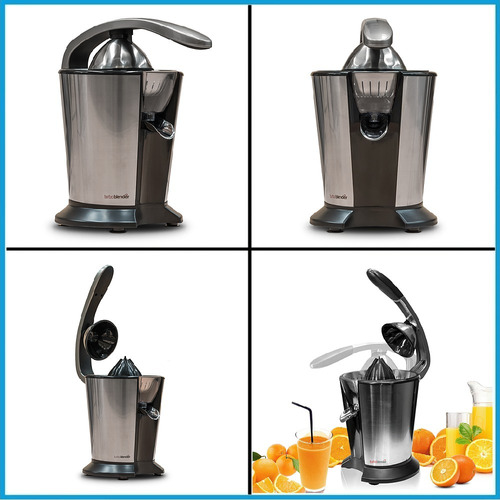 exprimidor citricos turboblender tb-720 inoxidable 120w