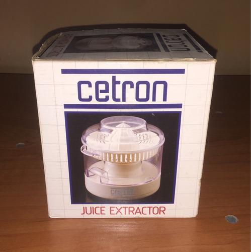 exprimidor de cítrico cetron, pack nuevo!