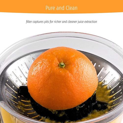 exprimidor de citricos, plateado