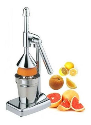 exprimidor de citricos royal copa en acero inoxidable
