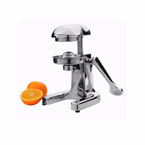 exprimidor de jugo juguera citricos a palanca de acero inox