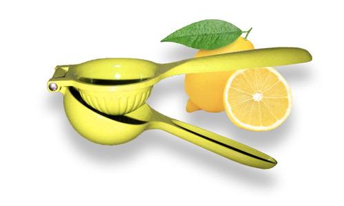 exprimidor de limón naranja y citricos