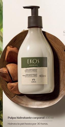 exquisita crema corporal natura ekos 400 ml andiroba