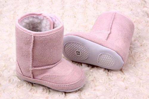 exquisitas botas para bebé de forradas en chiporro mimall