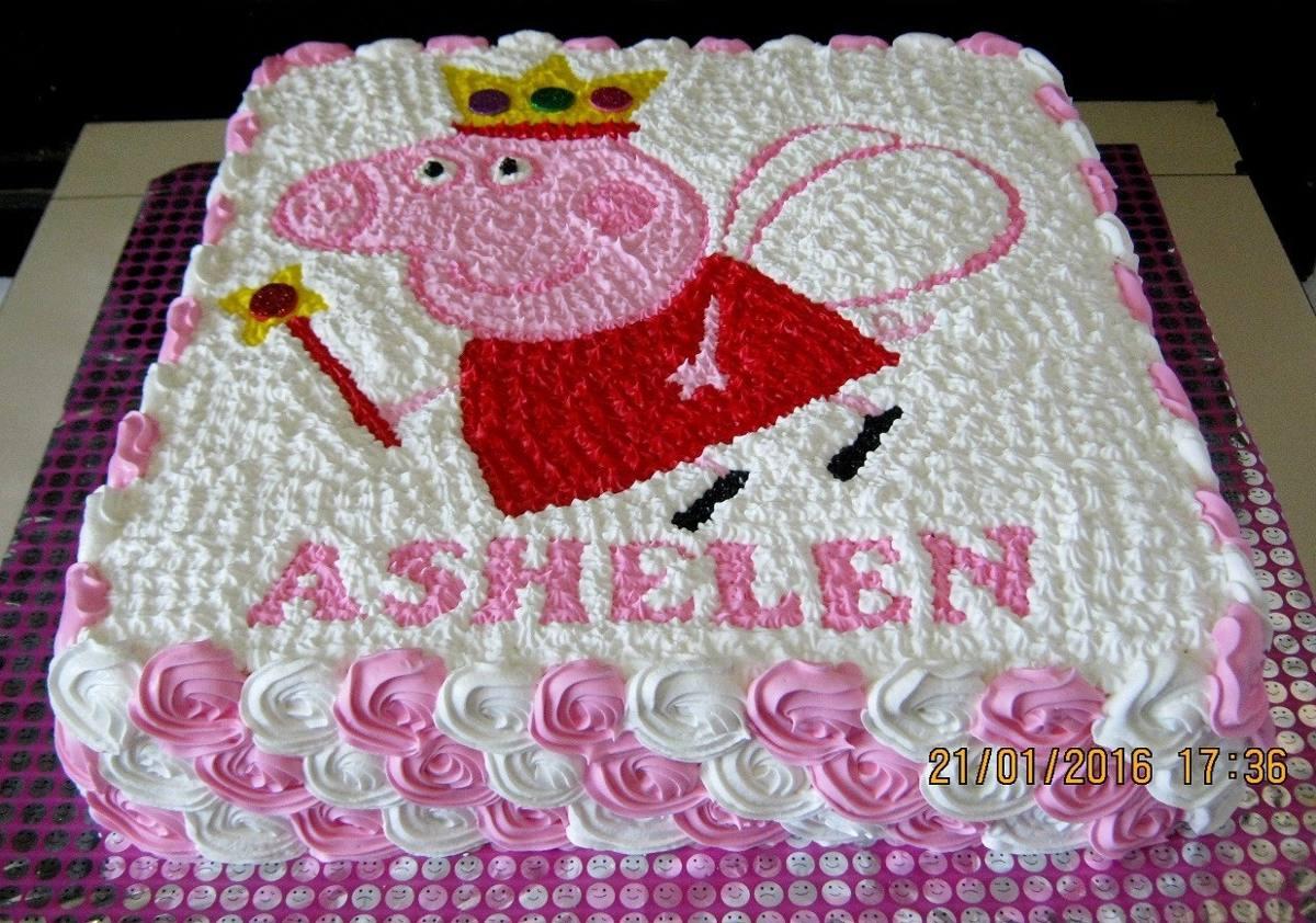 Baby Q Cake