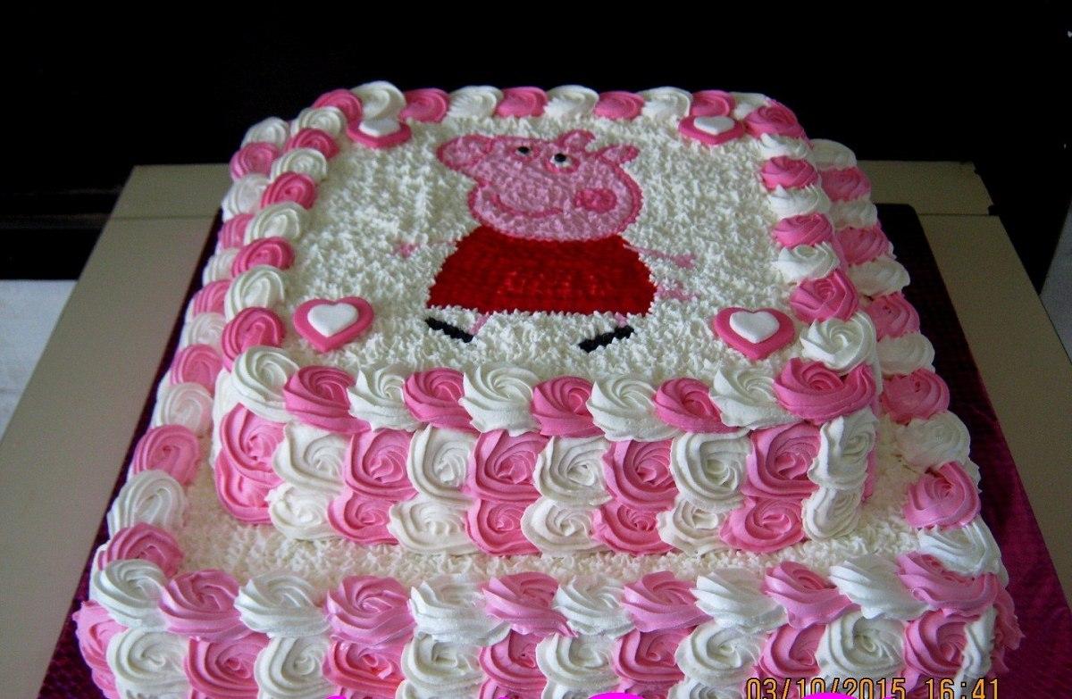 Modelos Torta Con Decoracion De Pepa Exquisitas Tortas