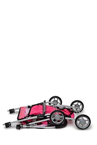 exquisite buggy carriola muñecas doble + 2 gratis magic bote