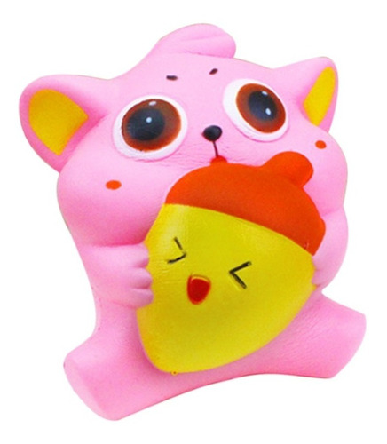 exquisito divertido suave gato dibujos animados squishy slow