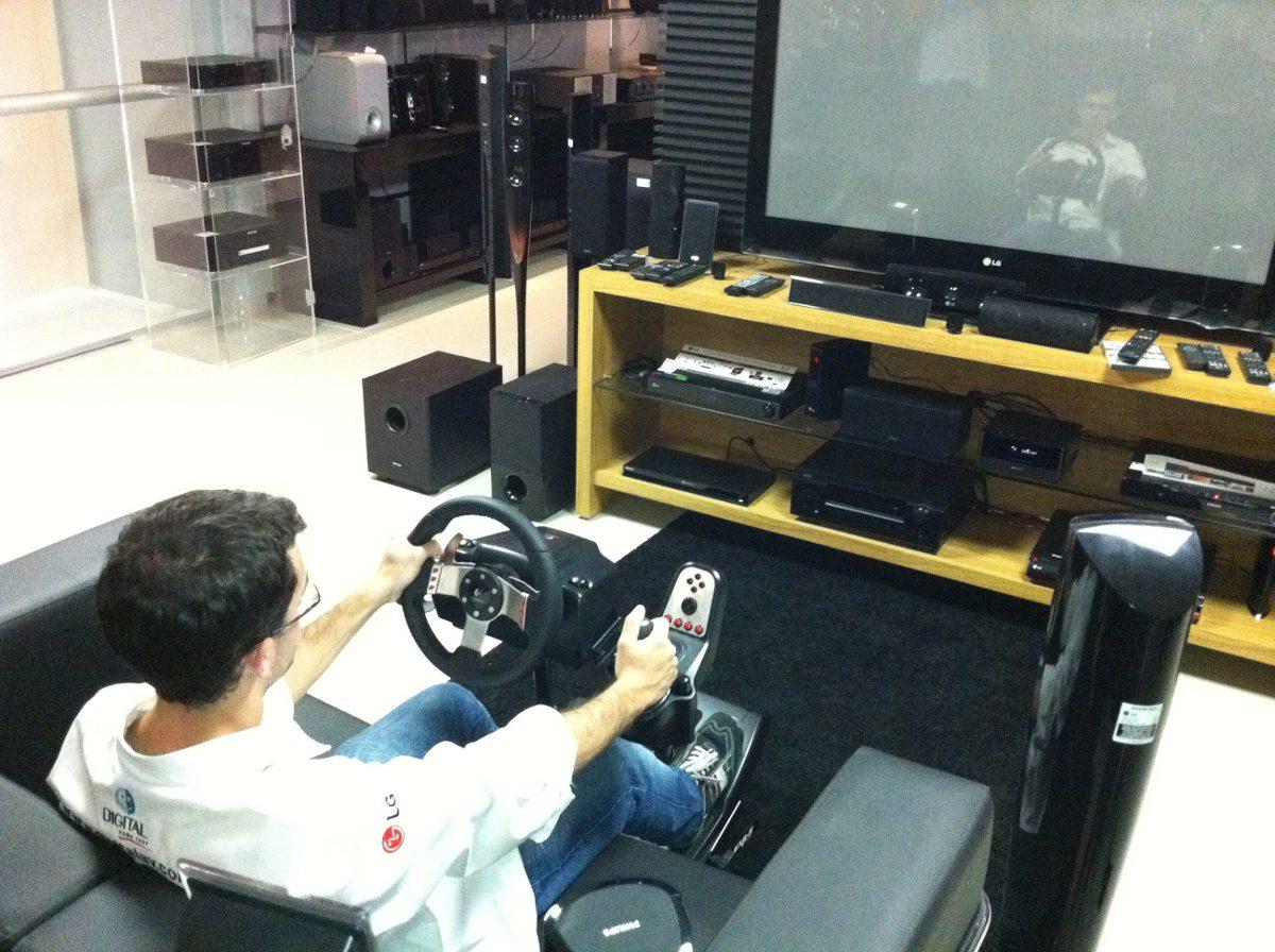 Exr s pro cockpit simulador suporte para volante g27 g29 - Simulador de salones ...