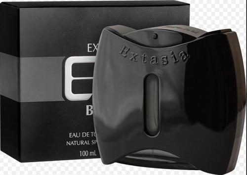 extasia black perfume new brand edt masculino - original