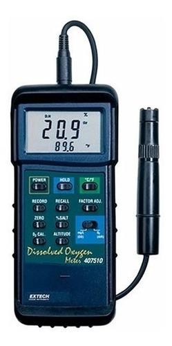 extech 407510 medidor oxigeno disuelto acuicultura agua do