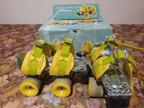 extencibles roller classic modelo escuelita