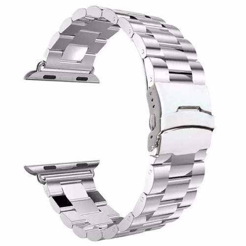 extensible acero inoxidable premium para applewatch 42 mm