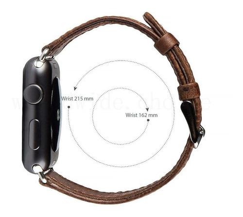 extensible correa apple iwatch piel genuina 44 42 40 38mm