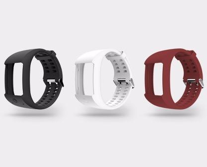 extensible correa para reloj polar m600 blanco