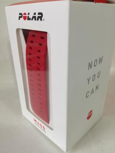 extensible correa para reloj polar m600 rojo