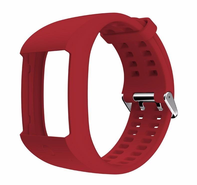 e3d2811d78cc Extensible Correa Para Reloj Polar M600 Rojo -   779.00 en Mercado Libre