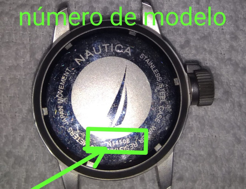 extensible nautica azul caucho 22mm envío gratis