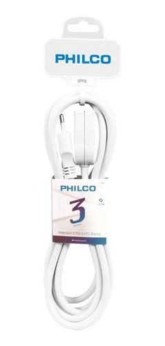 extensión 3mts blanco | philco