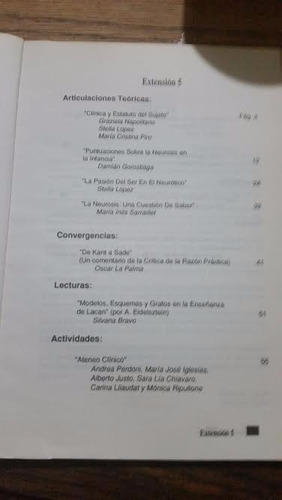 extensión 5. boletín de la cátedra de psicopatología i