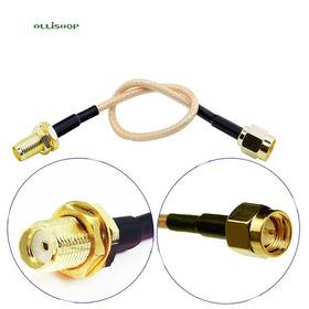 Extension Antena Sma Plug Sma Jack Gps Fpv Gsm Gprs 20cm