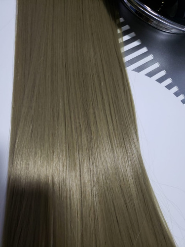 extension cabello rubia lisa y ondulada varios tonos larga