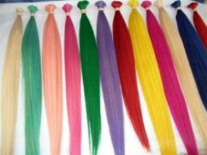 extension de cabello colores con clip