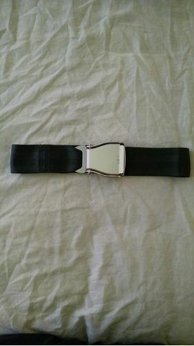 extension de cinturón de seguridad de aviación, original.