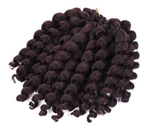 extensión de pelo con rizos de ganchillo (1 paquete) jamaic