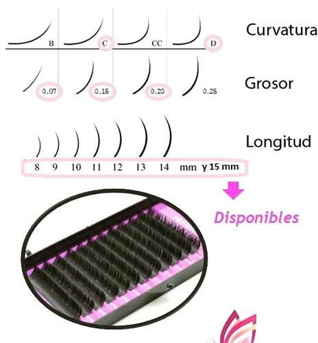 extension de pestañas pelo a pelo