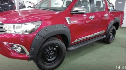 extension de tapabarro toyota hilux 2016 militar norma om