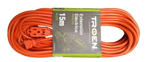 extension electrica de 15m encauchetada