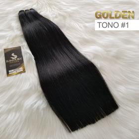 Extensión Golden 18 Pulg 100% Human Remy Tonos 1, 2, 4, 6, 8