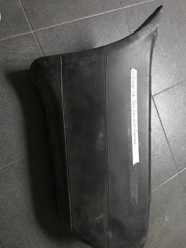 extensión izquierda de parachoque trasero fiat fiorino*