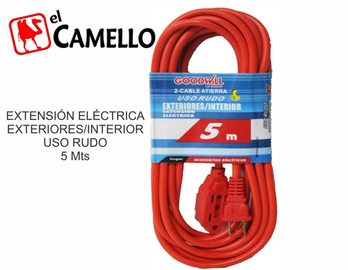 extension naranja 5m