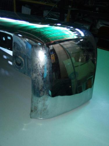 extensión punta cromada parachoque derecha ford super duty