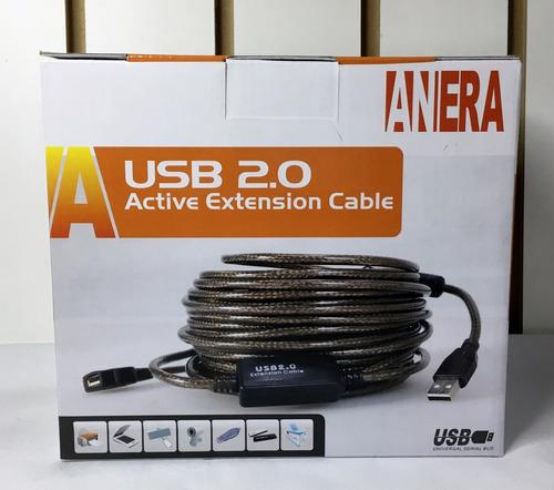 extension usb 2.0 activa de 20 metros de longitud