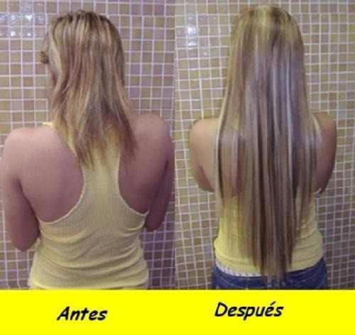 Extensiones de cabello natural cortina completa regalo clips en mercado libre - Extensiones de pelo natural cortinas ...